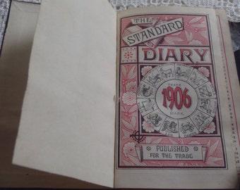 Vintage Diary Standard No. 31 1906 NH