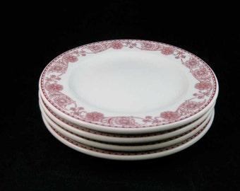 Mayer China Rutland Restaurant Ware Salad/Dessert Plates(4)Barker Bros. L.A.
