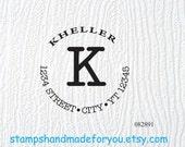 Custom Address stamp Personalized Self ink Custom Made Return Address Rubber Stamp great gift