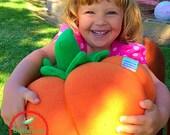 Halloween Plush Pumpkin - Giant Pumpkin Plushy - Orange Pumpkin - Blue Pumpkin - Children's Halloween Toy - Kids Halloween Plush Pumpkin