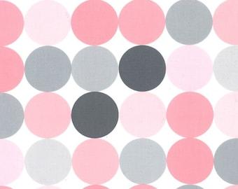 Michael Miller Disco Dot - Blossom  - you pick the cut