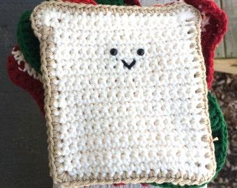 Crochet BLT Sandwich