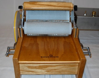 Little Brother Motorized Drum Carder With 10 Dollar Shop Coupon Carding the EASY WAY!