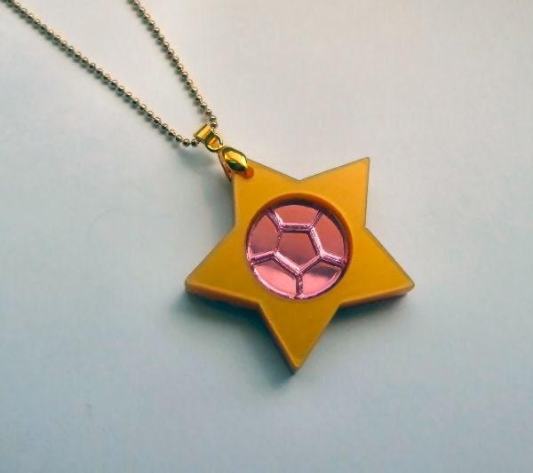 Rose Quartz Steven Universe Necklace