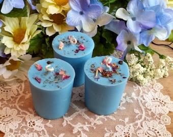 3 Erzulie Soy Candles, Erzulie, Ezili Vodou Lwa, Love