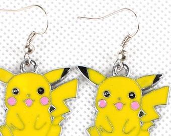 Pokemon Pikachu Earrings Free Shipping!