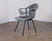 Vintage Eames-Era Fiberglass Armchairs