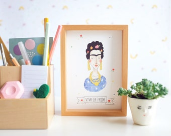 Frida Postcard A6