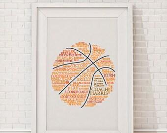 Custom Basketball Art