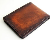 Leather wallet - The Classic - wallets for men, mens leather wallet, FREE MONOGRAM, brown wallet, slim wallet, handmade, mens wallet