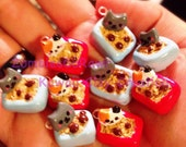 Kawaii Kitty Cat Litter Box Charm