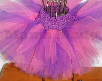 Purple and Hot Pink Tutu, Purple and Pink Tutu, Pink Tutu,Purple Tutu, Birthday Tutu, Flower girl tutu, wedding tutu,newborn tutu girl tutu