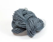 Paper Yarn - Paper Twine: Grayblue - 131 yards (120m) - Knit, crochet, textile arts, DIY supply