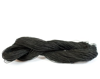 Bulky Paper Twine: Black - 190 yards (175m) - DIY, Crafts, Gift Wrapping, Knitting, Weaving, Craft Supply