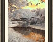 Forest Park, St. Louis, Missouri , fine art photography, infrared photography, St. Louis photography, bridge photography, victorian photo