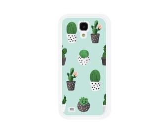 Cactus Samsung Galaxy S5 Case - Succulent Samsung S5 Case Samsung Galaxy S4 Case Blue Samsung S4 Case Samsung Galaxy S6 Case Phone Case