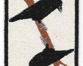 Norse Mythology, Hugin and Munin Ravens Patch