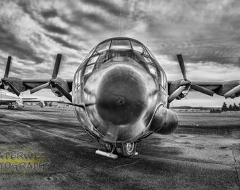 The Spectre- Angel of Death AC130-A Fine Art Panorama Print