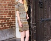 Knitted linen with biocotton dress EARLY SPRING-February.