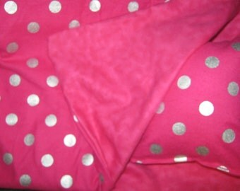 American Girl Sleeping Bag, hot pink doll bedding for 18 inch doll
