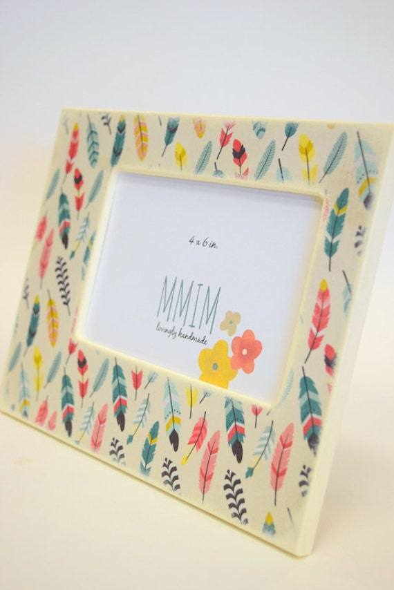 Feathers 4 X 6 Picture Frame Photo Frame Table Top Photo