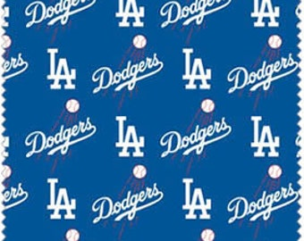 LA Dodgers Major League Baseball - Full or Half Yard
