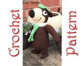 Terry Bear a Crochet Pattern by Erin Scull