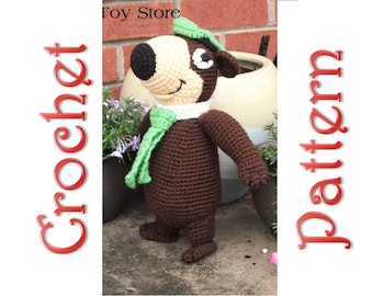 Terry Bear a Crochet Pattern by Erin Scull