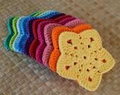 PDF Granny Super Star Coaster N Motif Crochet Pattern