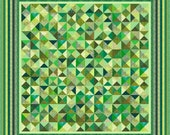 """GREEN ACRES 2 - 112"""" x 112"""" or 97"""" x 97"""" - Quilt-Addicts Precut Quilt Kit or Finished Quilt King size"""