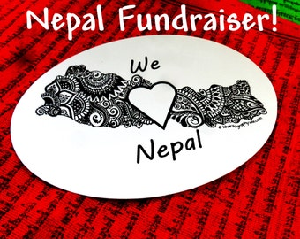 We Love Nepal FUNDRAISER Decals!