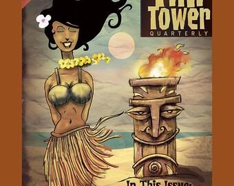 Tiki Tower Quarterly - Hawaiian Hula Dancer  8x10 Print