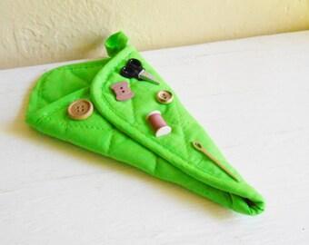 Bright GreenUpcycled Scissor Holder