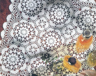 Crocheted Doily - Summer free shipping