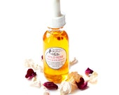 Wild Rose Serum for radiant complexion, facial oil, 100% organic, toning, regenerative, for sensitive skin - 1 oz (30ml)