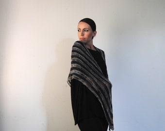 TOILE shawl knitting pattern PDF