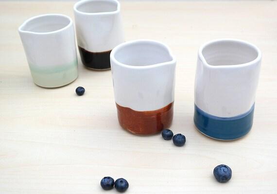 Ceramic Creamer - Choose Color
