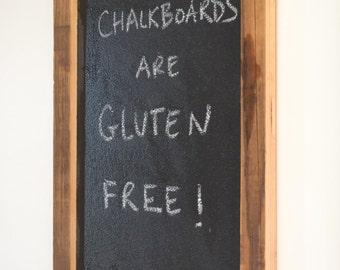 Reclaimed Wood Chalkboard- Free Shipping