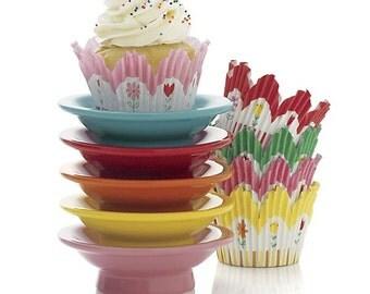X1, Cupcake Pedestal, Red