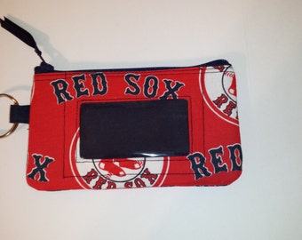 Boston Red Sox  Zip ID pouch
