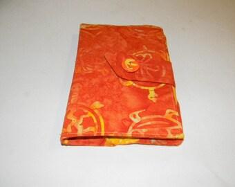Orange Turtle Batik Kindle Fire/Kindle Keyboard/Kindle Fire HD Cover
