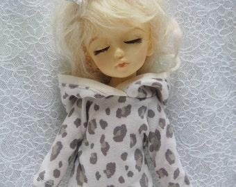 Super Dollfie Yo SD Littlefee Leopard Print Hoodie