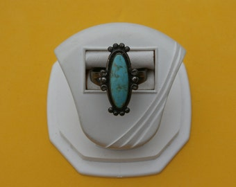 Sterling Silver Blue Mint Turquoise Ring,Bell Trading Company