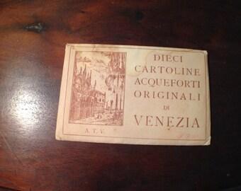 Venice, Italy Vintage Postcards
