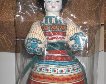 Vintage Avon, China headdoll, 1981, American heirloom collection, NIB