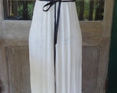 ivory maxi, upcycled dress, hippy boho, small