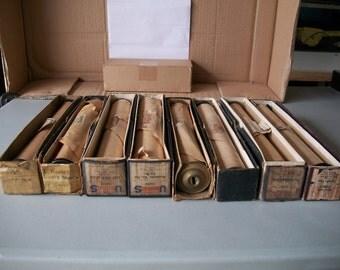 Antique Piano Player Roll in Original Box