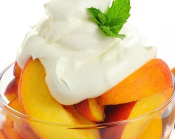 Protein Free Peaches & Cream Soft Curls Cream - Protein Free Curly Cream, Wavy Hair Products, Natural Hair Care