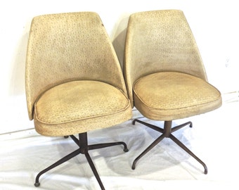 vintage atomic swivel chairs - 1950s-60s mid century pod chair 1 available