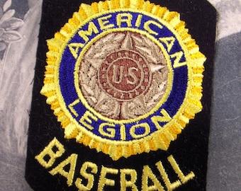 American Legion Baseball Patch, Sports Uniform Emblem, Converged Commodities epsteam vestiesteam
